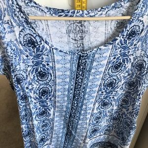 Lucky brand top sz large